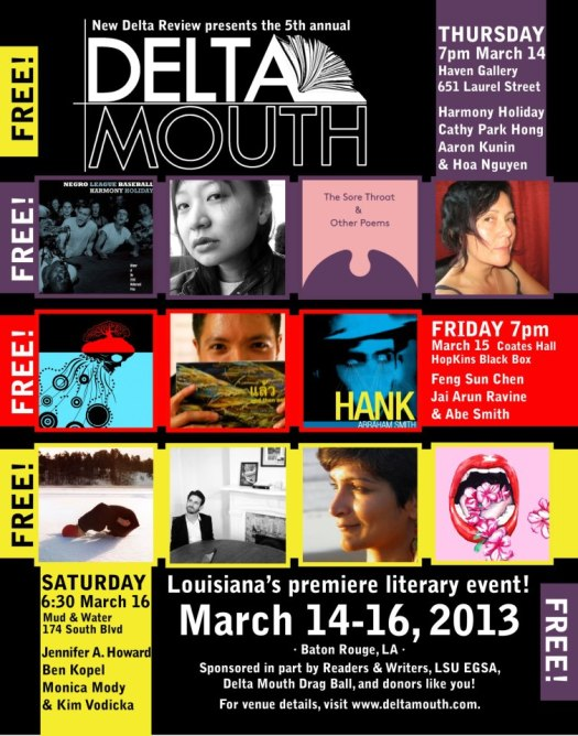 Fifth Annual Delta Mouth Literary Festival (March 14-16, 2013)