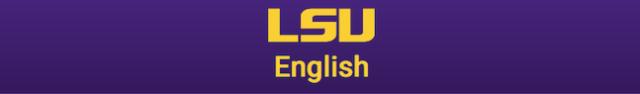 LSU English logo