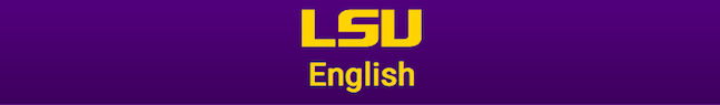 LSU English logo